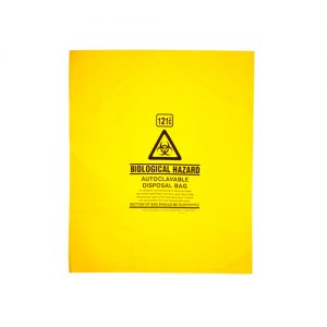 Autoclave Bags 121°C Yellow Printed