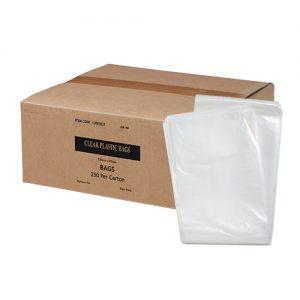72L Clear Plastic Bags 38um