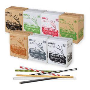 Regular Paper Straws 6mm