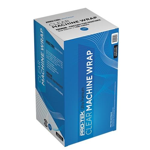 Pro-Tek Ultra Premium Clear Machine Wrap - MWPU23CL