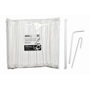 Flexible Paper Straws 6mm