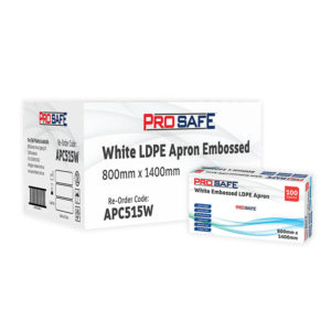 ProSafe LDPE Embossed Apron - APC515W
