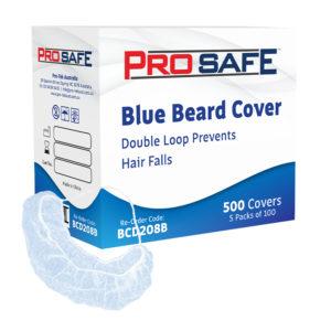 ProSafe Beard Covers Blue - BCD208B
