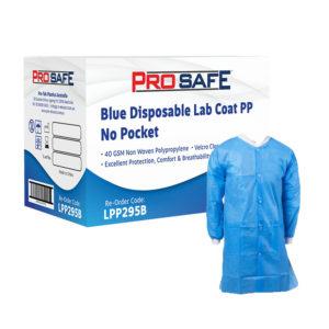 ProSafe Blue Disposable Lab Coat - LPP295B