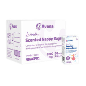 Avena Lavender Scented Nappy Bags